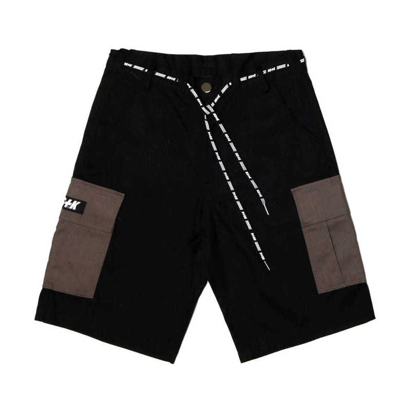 [2018 SUMMER SALE] [NSTK] NLMT CARGO SHORT PANTS (BLK)