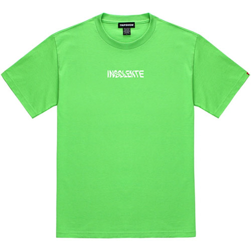 [TRIPSHION] WAVE INSOLENTE T-SHIRT LIME