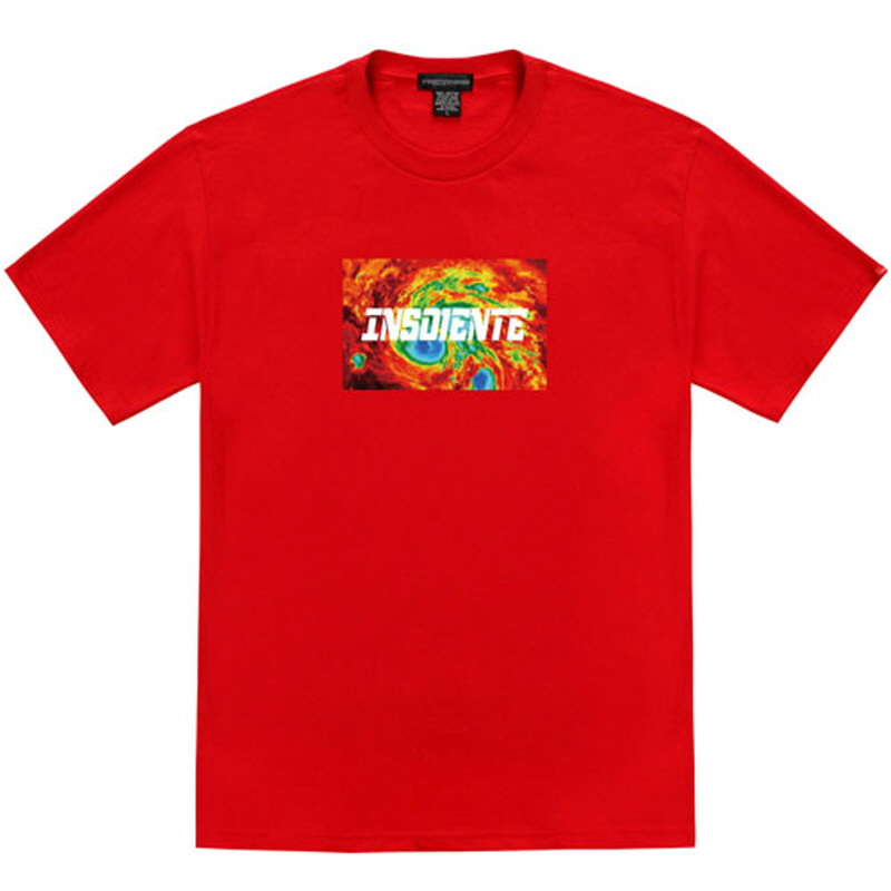 [TRIPSHION] INSOLENTE T-SHIRT RED