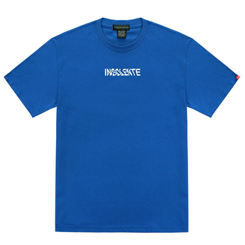 [TRIPSHION] WAVE INSOLENTE T-SHIRT BLUE