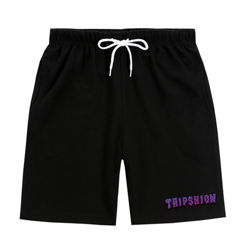 [TRIPSHION] PURPLE SLIME PANTS BLACK