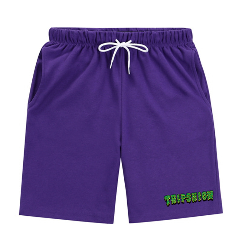 [TRIPSHION] GREEN SLIME PANTS PURPLE