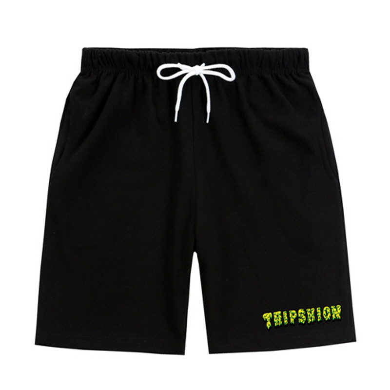 [TRIPSHION] LIME SLIME PANTS BLACK