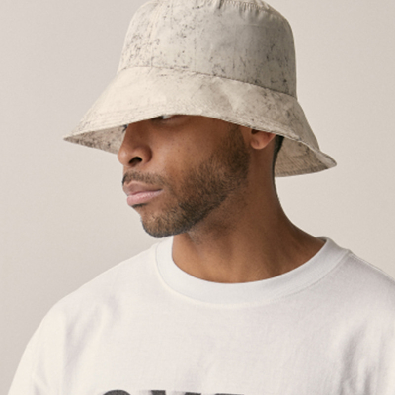 [OVERR] 18SU WATER WASHING BEIGE BUCKET HAT
