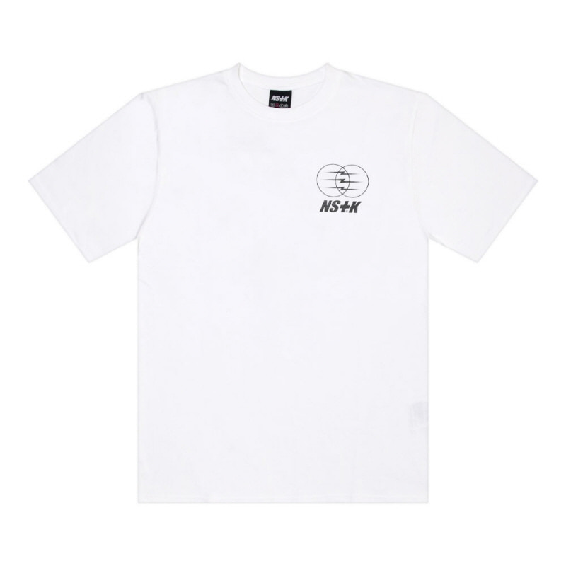 [2018 SUMMER SALE] [NSTK] ELECTRIC WAGON TEE (WHT)