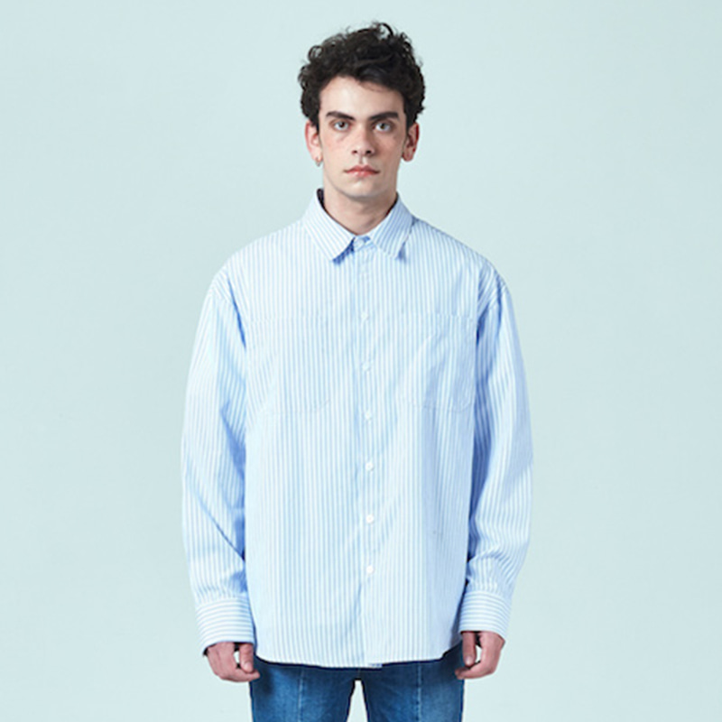 [DEADEND] WHITE STRIPE QUOTE SHIRTS