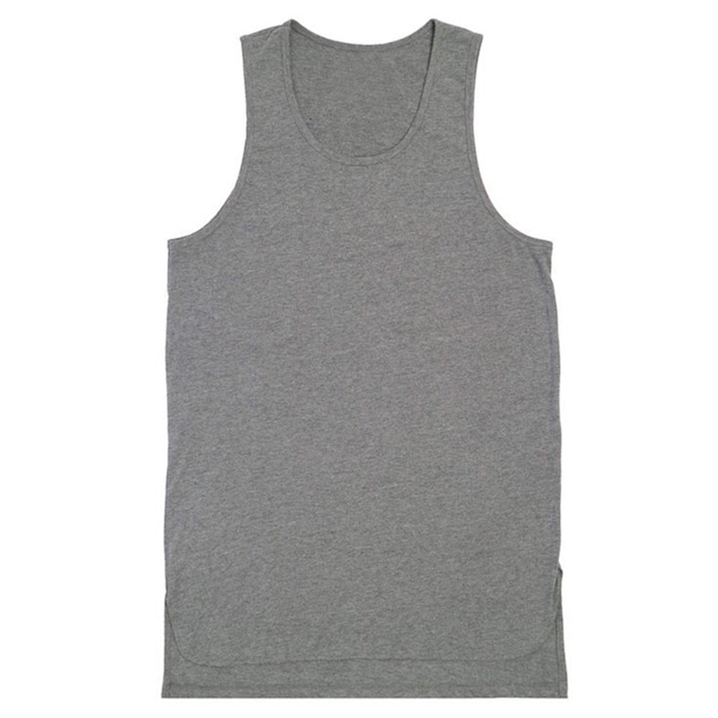 [DEADEND] GREY LAYERED SLEEVELESS