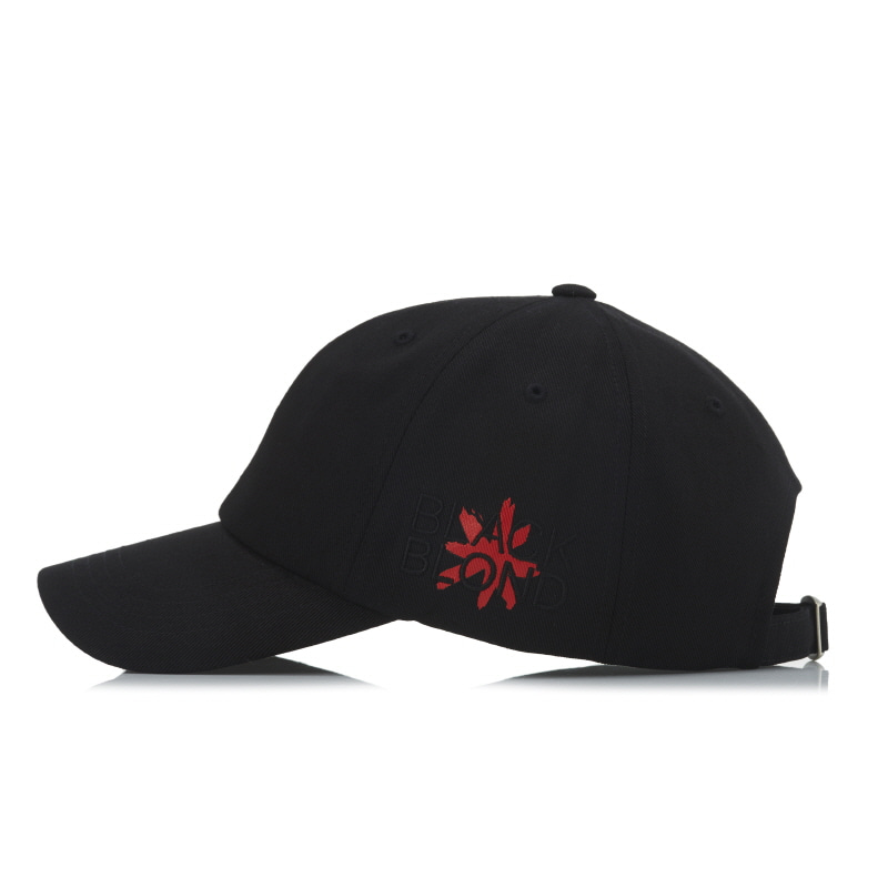 [BLACKBLOND] BBD SIDE LOGO CAP (BLACK)