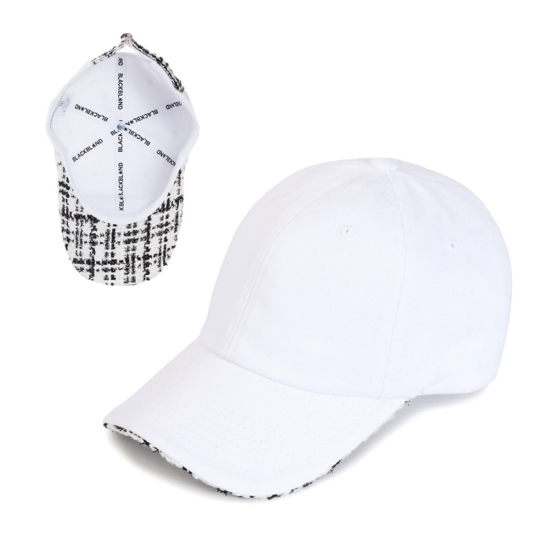 [BLACKBLOND] TWEED CAP (WHITE)