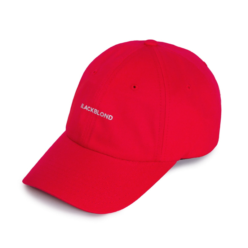 [BLACKBLOND] BBD REFLECTION LOGO CAP (RED)