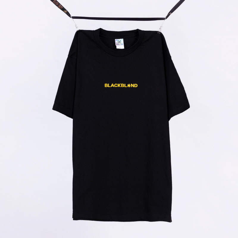 [BLACKBLOND] BBD BASIC CENTER LOGO TEE (BLACK)