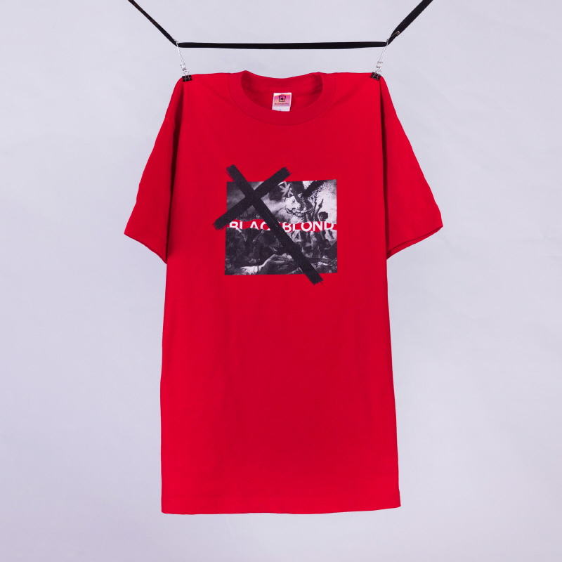 [BLACKBLOND] BBD REVOLUTION TEE (RED)