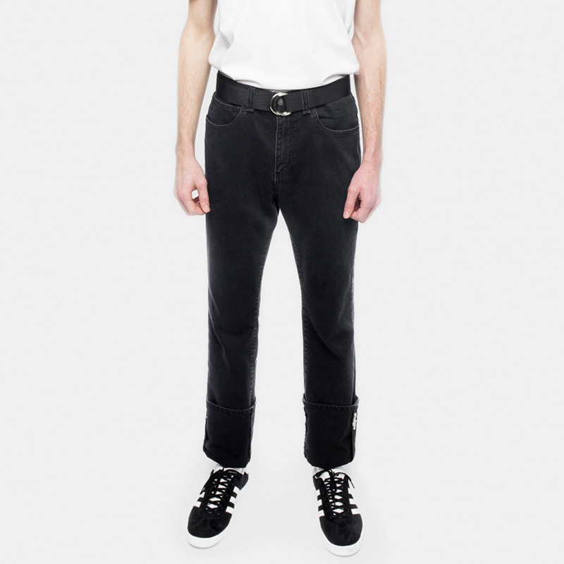 EXTENDED JEANS (BLACK)
