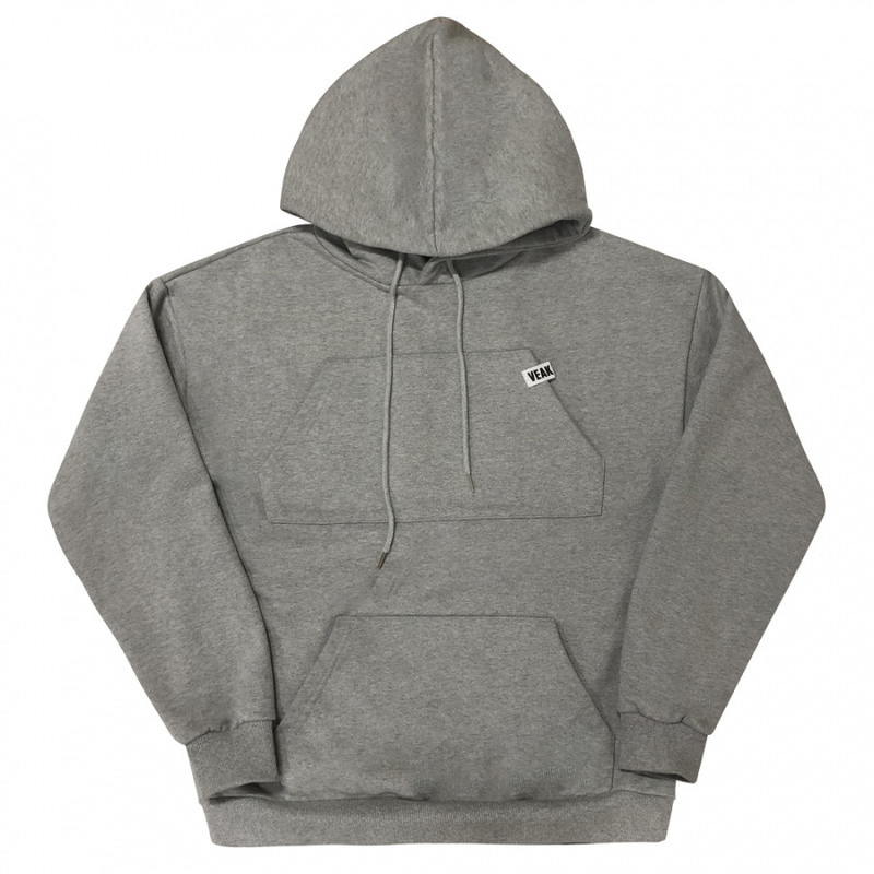 [VEAK] EP.4 LOVE, DAMAGE / 2 POCKET HOOD(GREY)