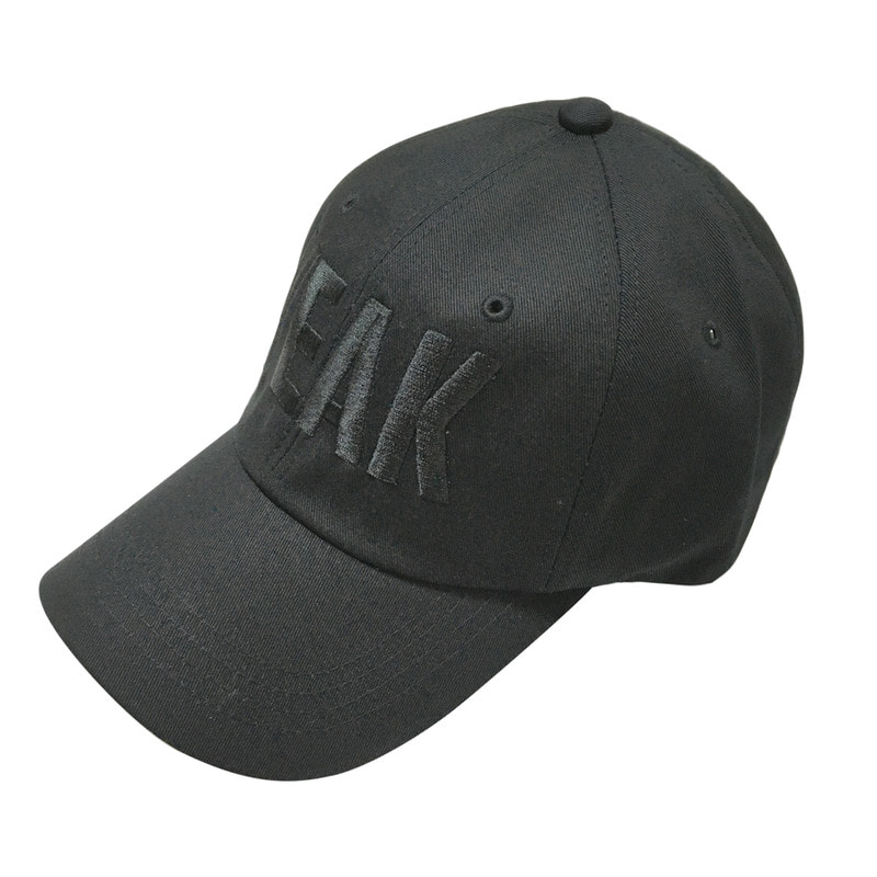 [SUMMER SALE 10%] [VEAK] EP.4-5 SIGNATURE BALLCAP (BLACK/BLACK)