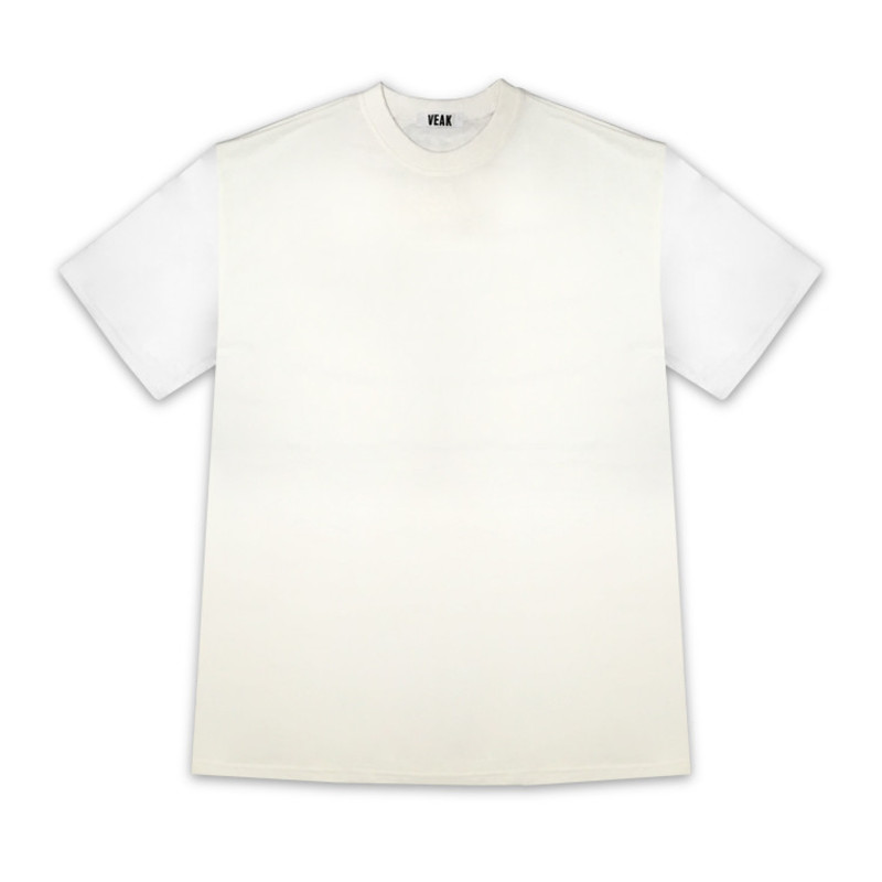 [SUMMER SALE 25%] [VEAK] VEAK X TRYST EXCLUSIVE BARCODE T SHIRT (WHITE)
