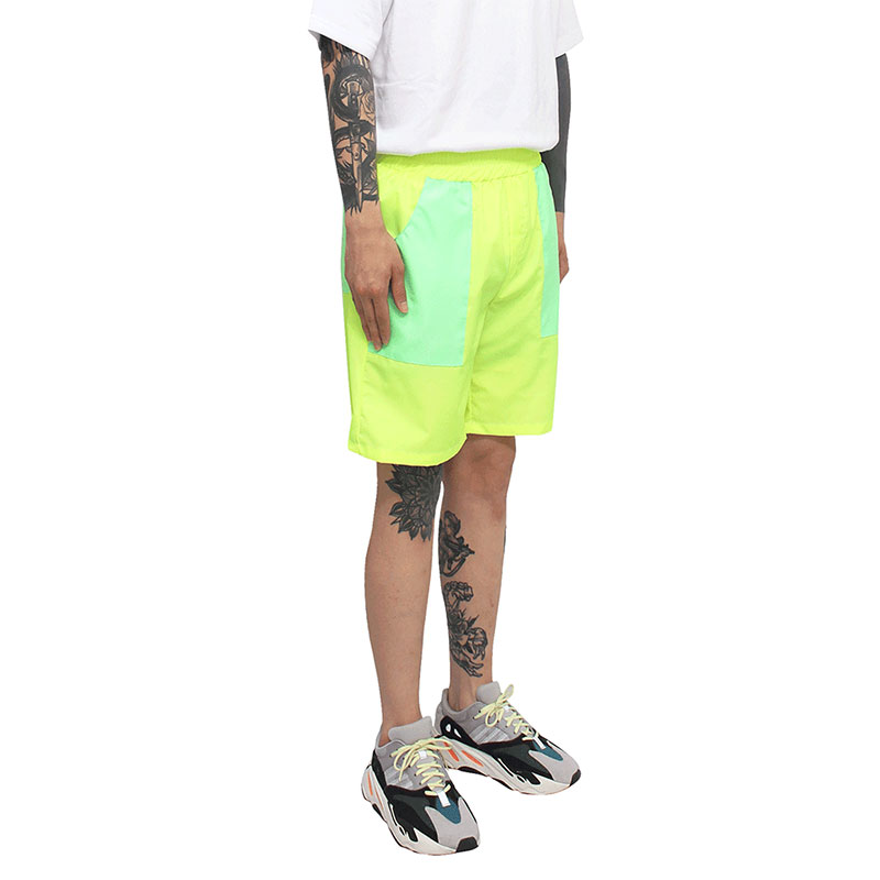 [CLACO] SQUARE SUMMER SHORTS (NEON)