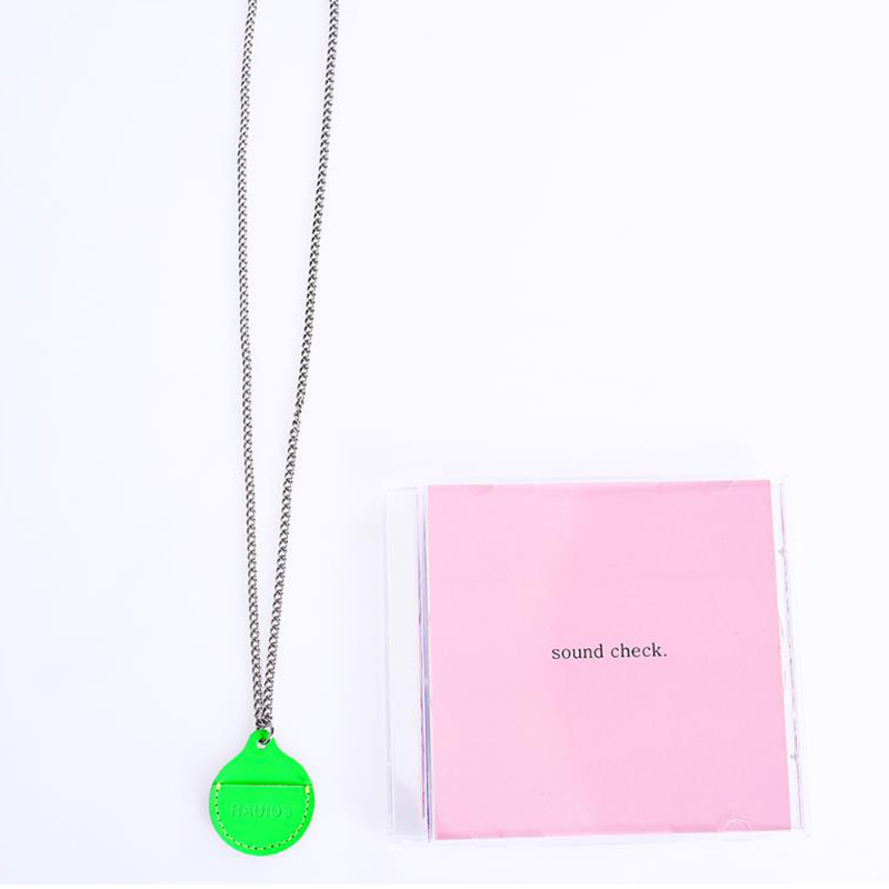 [RADIOS] COIN HOLDER NECKLACE TRACK.1 (NG)