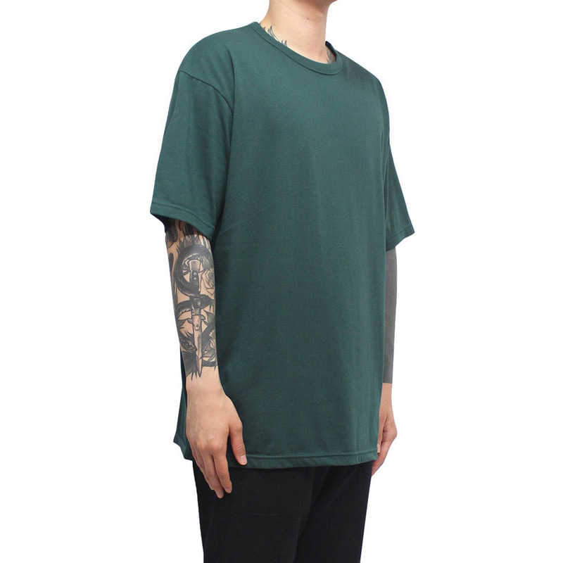 [CLACO] SQUARE TEE V3 (DARK GREEN)
