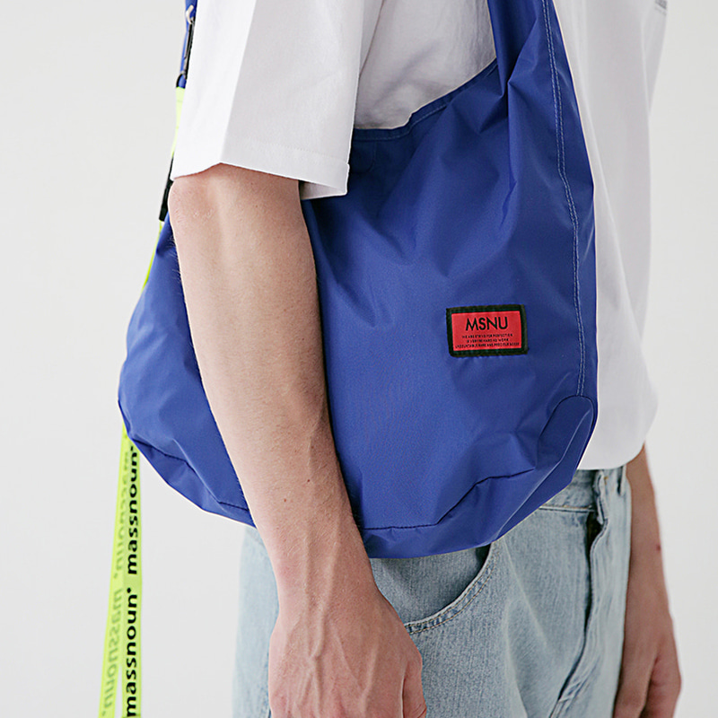 6/29 배송 [MASSNOUN] REVERSIBLE MULTI SHOULDER BAG MSEAB002-BL
