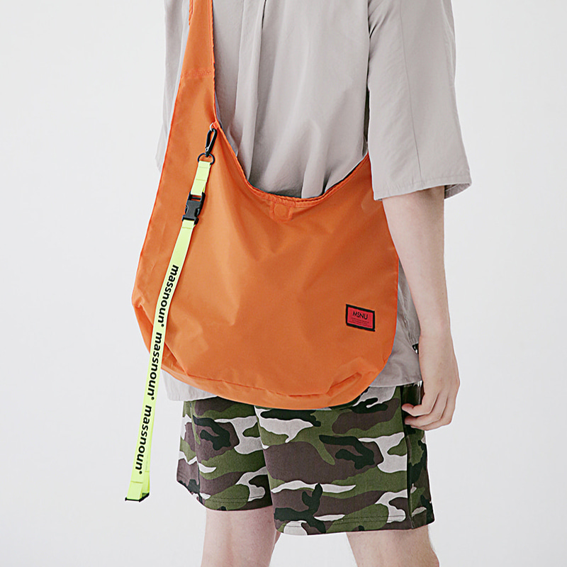 6/29 배송 [MASSNOUN] REVERSIBLE MULTI SHOULDER BAG MSEAB002-OR