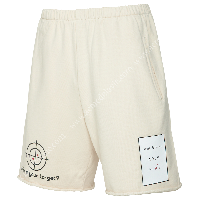 [ACME DE LAVIE] ADLV TARGET SHORT PANTS CREAM 타켓 반바지 크림