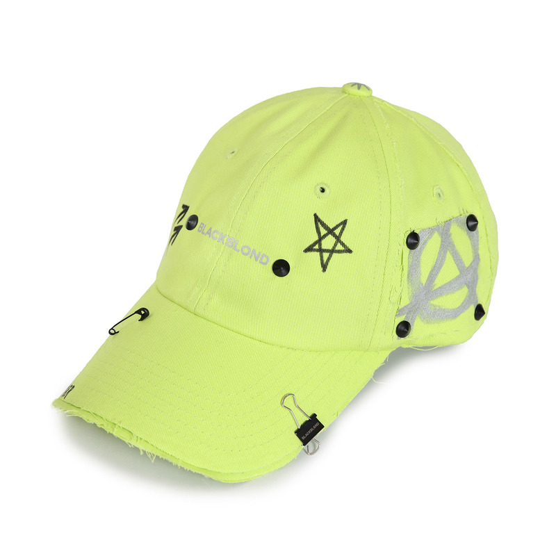 [BLACKBLOND] BBD REFLECTION LOGO NO SYMPATHY CAP (NEON)
