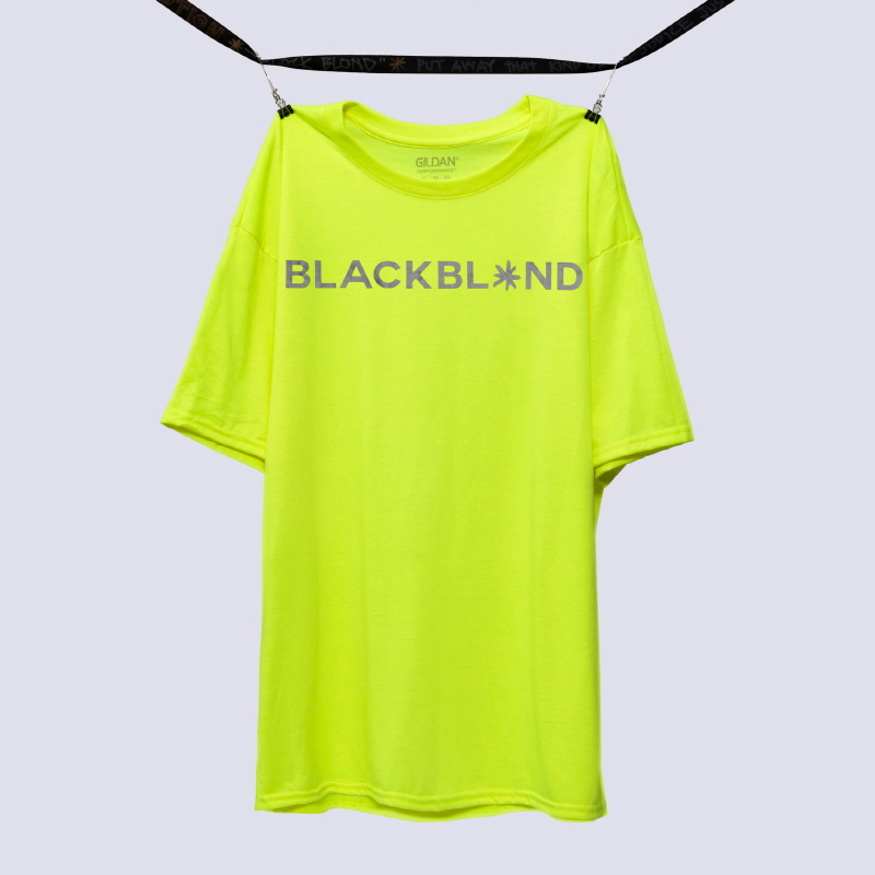 [BLACKBLOND] BBD REFLECTION LOGO TEE (NEON)