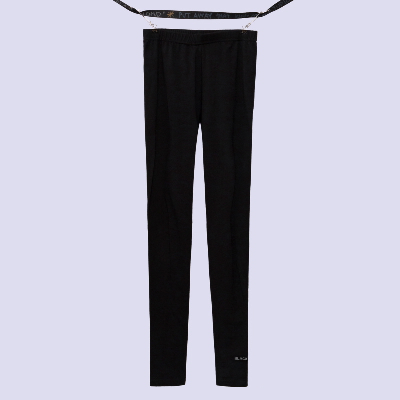 [BLACKBLOND] BBD REFLECTION LOGO LEGGINGS (BLACK)