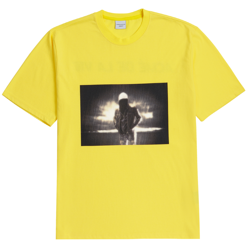 [ACME DE LAVIE] ADLV SHORT SLEEVE T-SHIRT DARK RAIN YELLOW