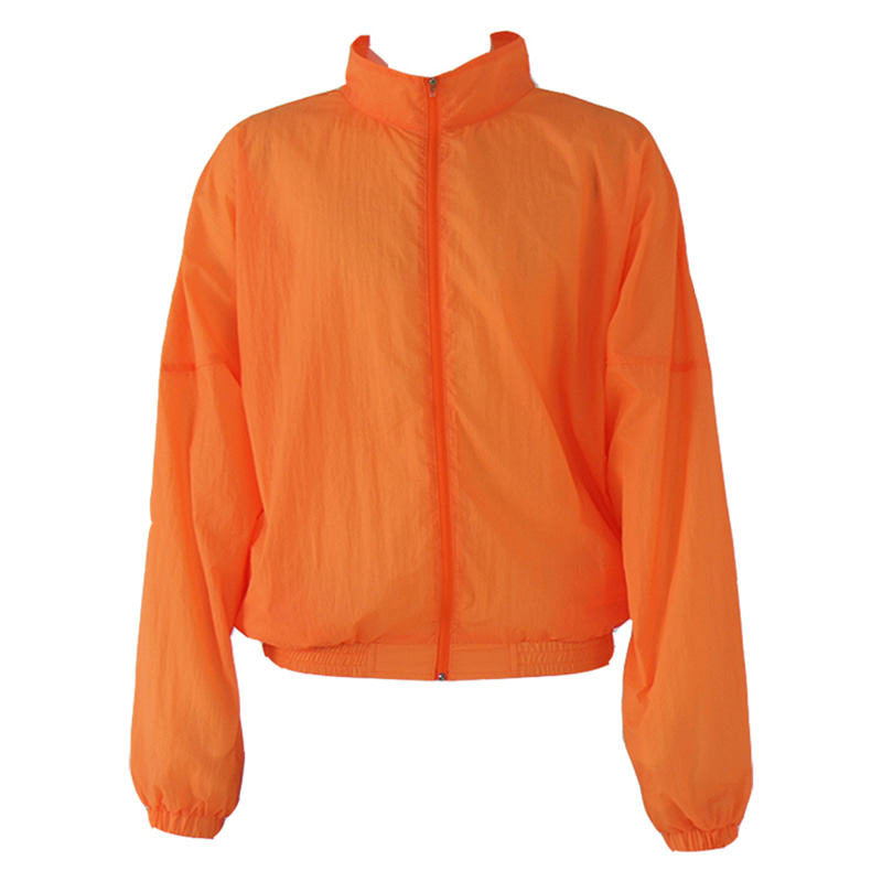 CDG NEON TRACKTOP (NEON ORANGE)