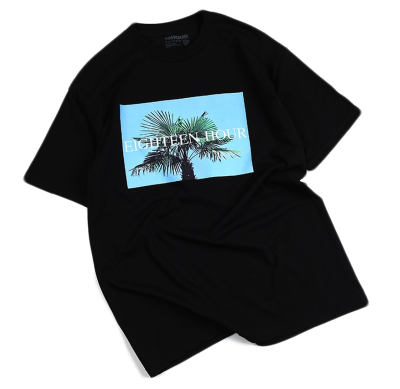 [18 HOUR] 12#PALM TREE SHORT TEE