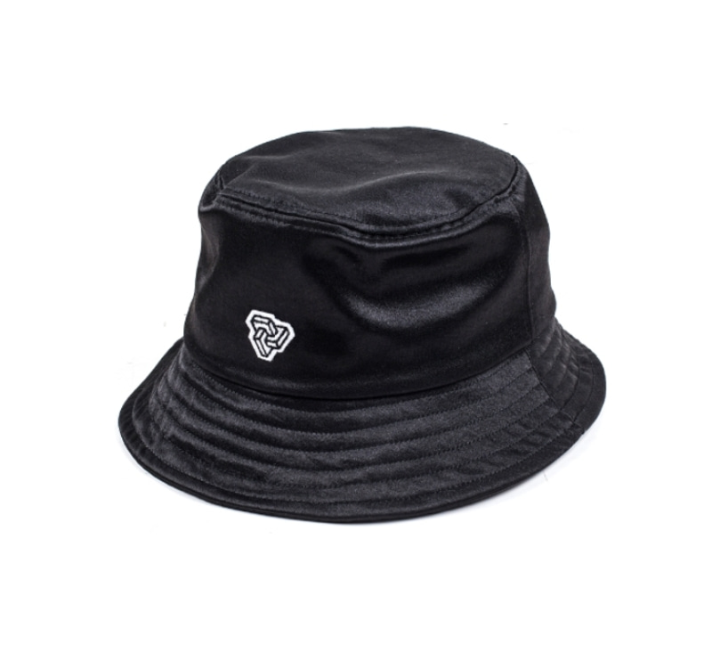 [18 HOUR] 10#LOGO GLOSSY BUCKET HAT