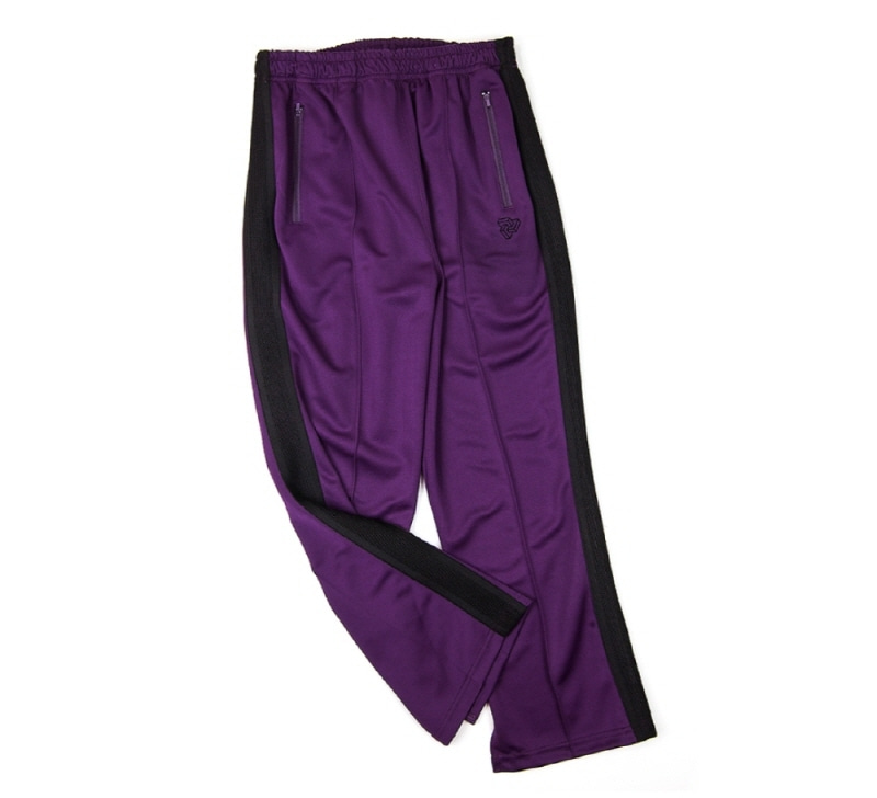 [18 HOUR] 45#LOGO TRACK PANTS (PURPLE)