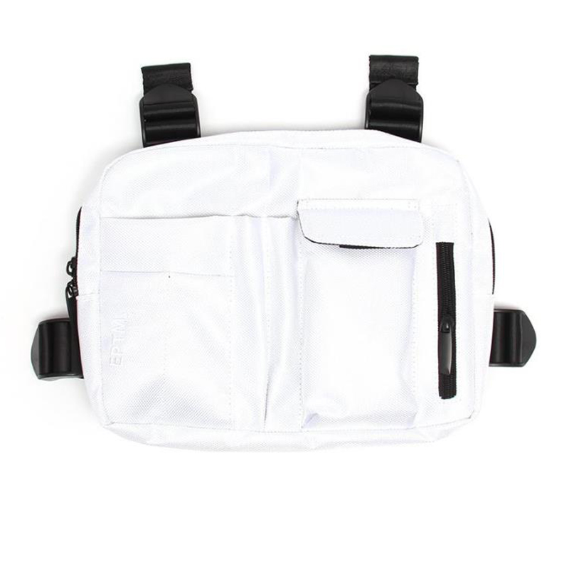 CHEST RIG BAG (WHITE)