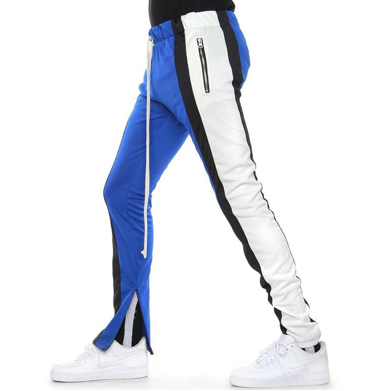 [EPTM] COLOR BLOCK TRACK PANTS 5.0 (BLUE/BLACK/WHITE)