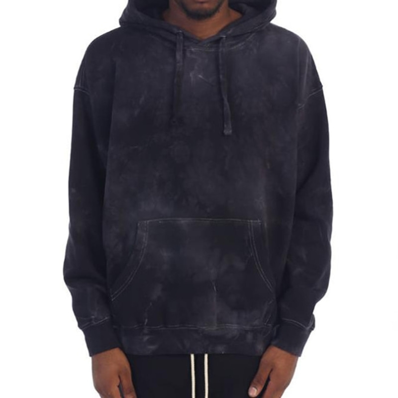 [$ SHOP SALE] [EPTM] POWER WASHED HOODIE (BLACK)