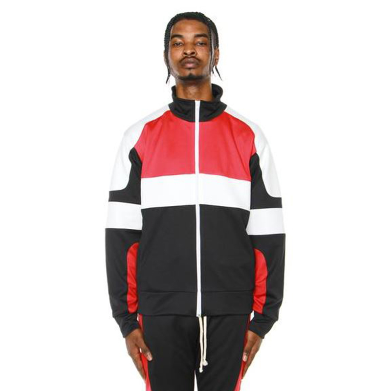 MOTOCROSS JACKET (BLACK/RED/OFF WHITE)
