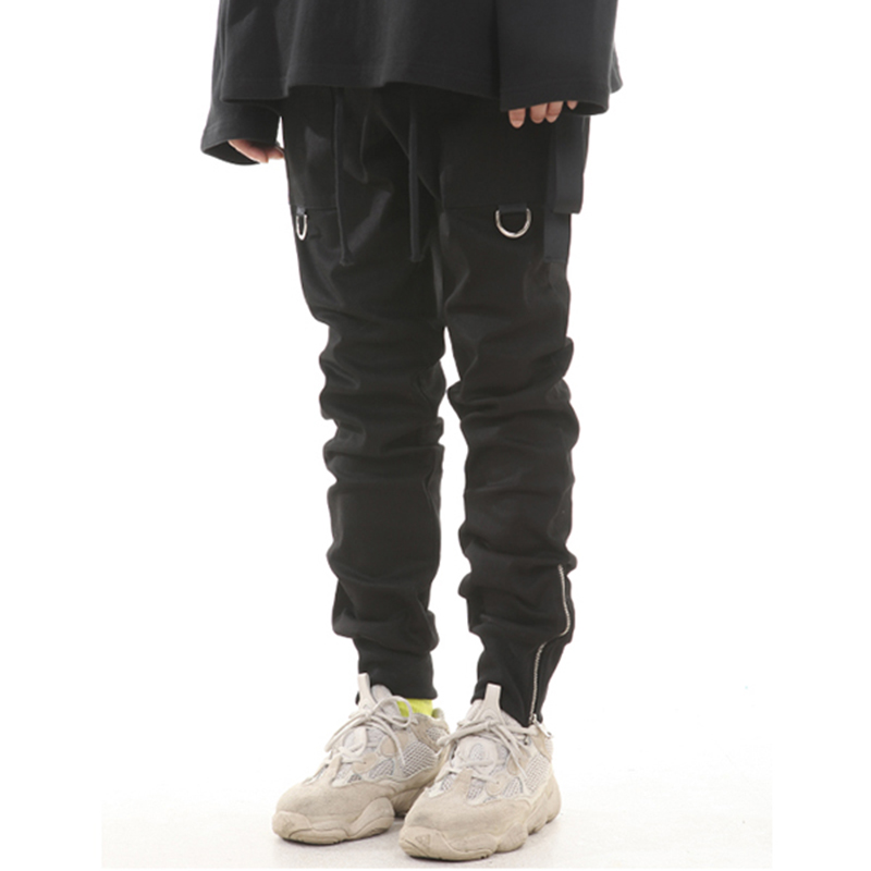 [LANG VERSIO] 123 ZIPPER RING JOGGER PANTS