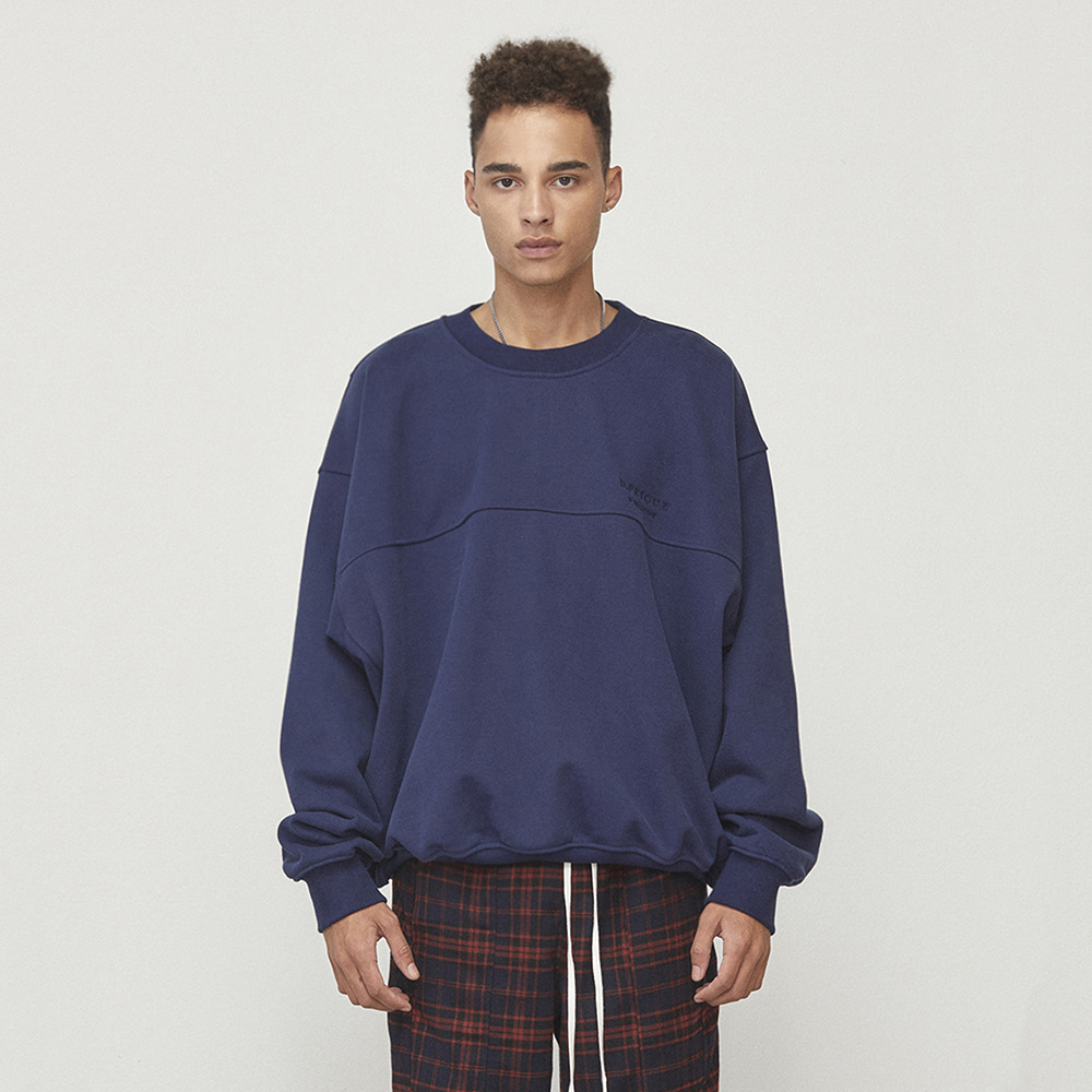 OVERSIZED SWEATSHIRT (NAVY)