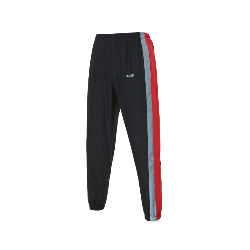 ADLV REFLECTIVE LOGO PANTS RED