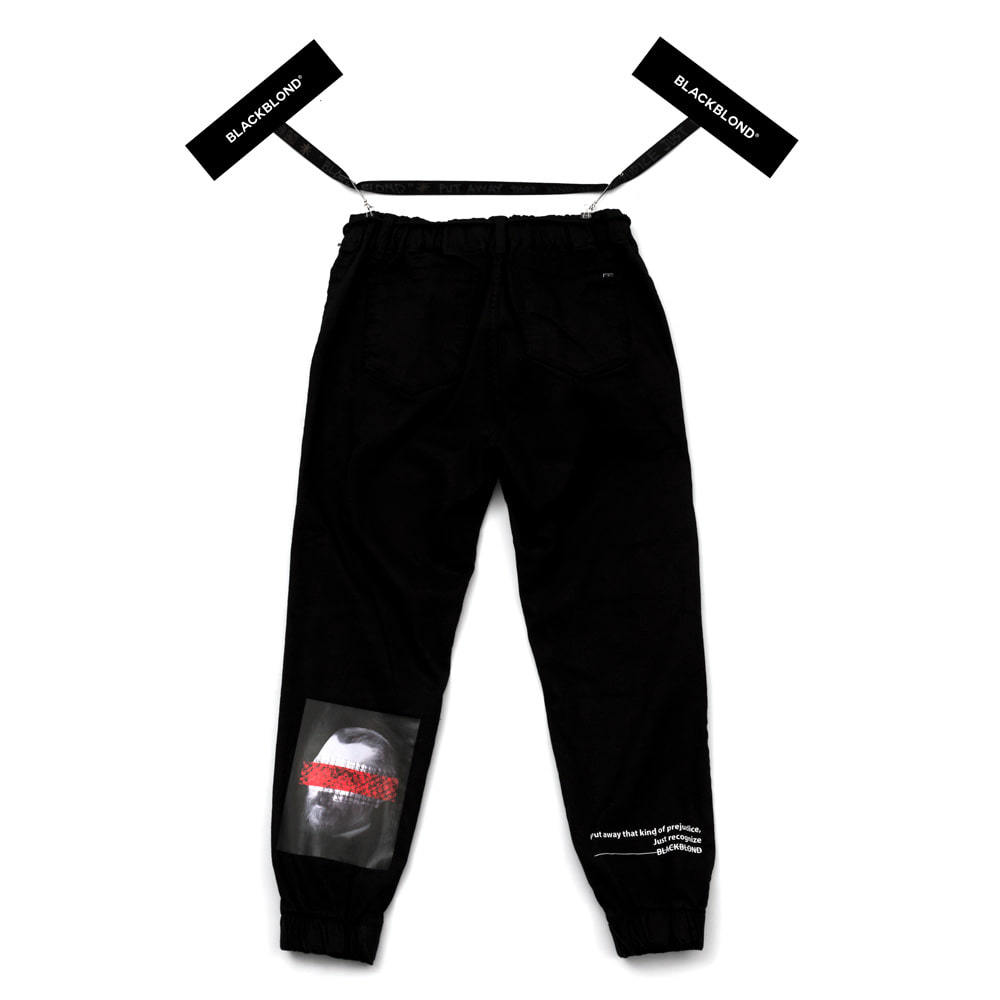 [BLACKBLOND] BBD BRUTAL JOGGER PANTS (BLACK)