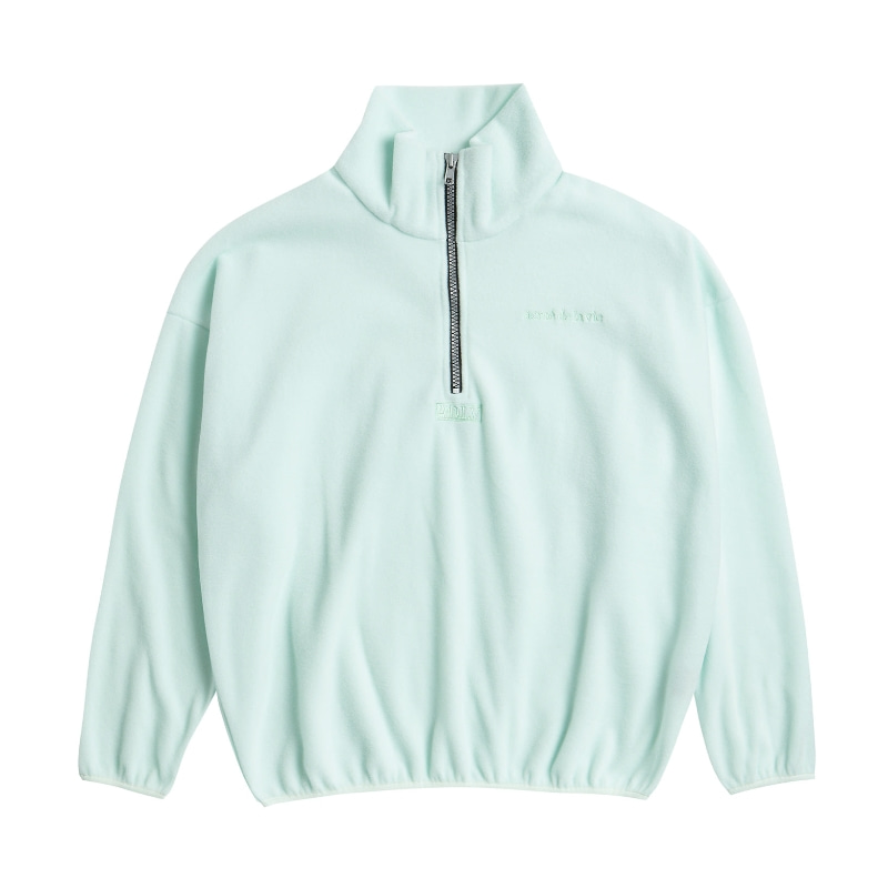 ADLV EMBROIDERY FLEECE JACKET MINT