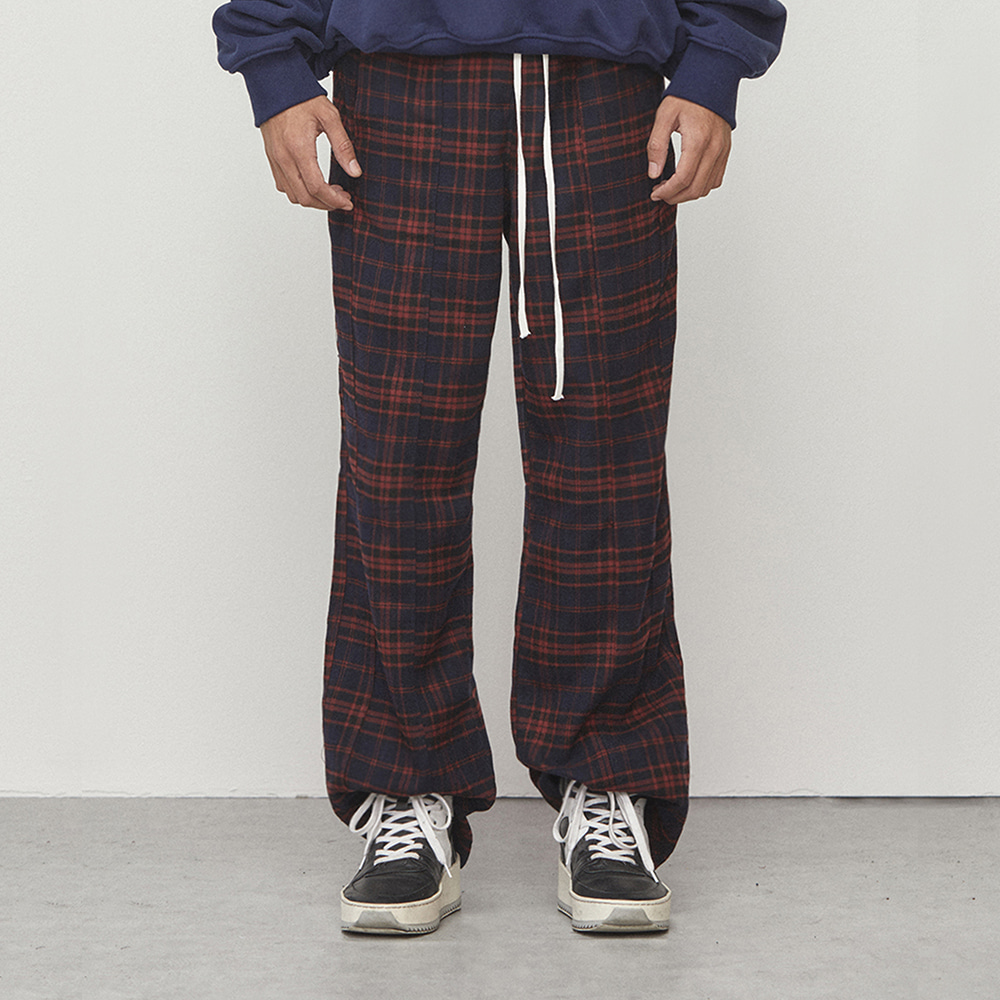 WIDE PANTS (NAVY)