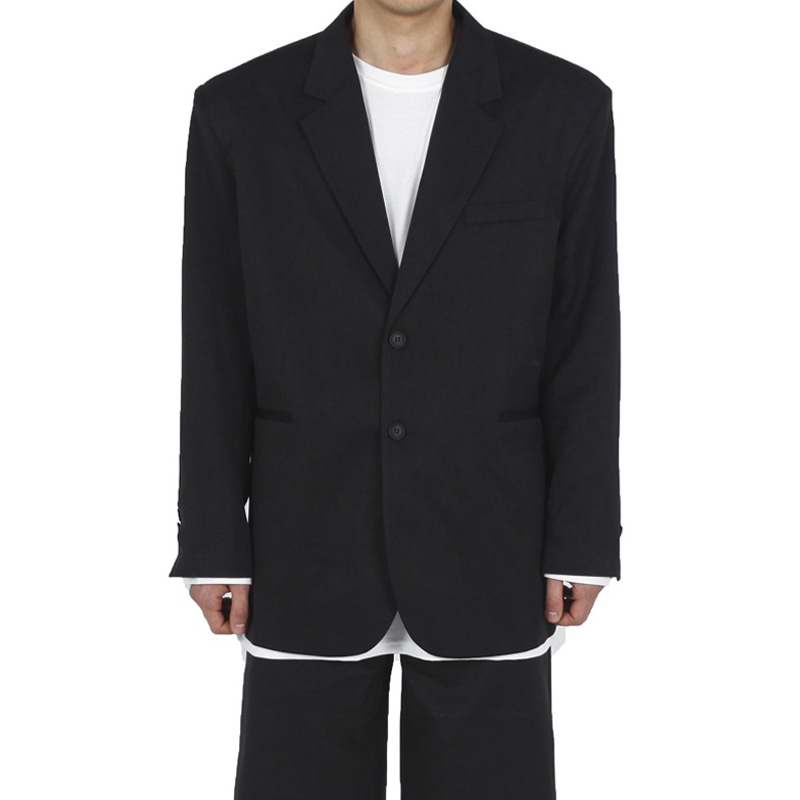 OVER BLAZER (BLACK)