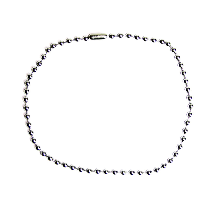 LOGO BALLCHAIN NECKLACE TRACK.1