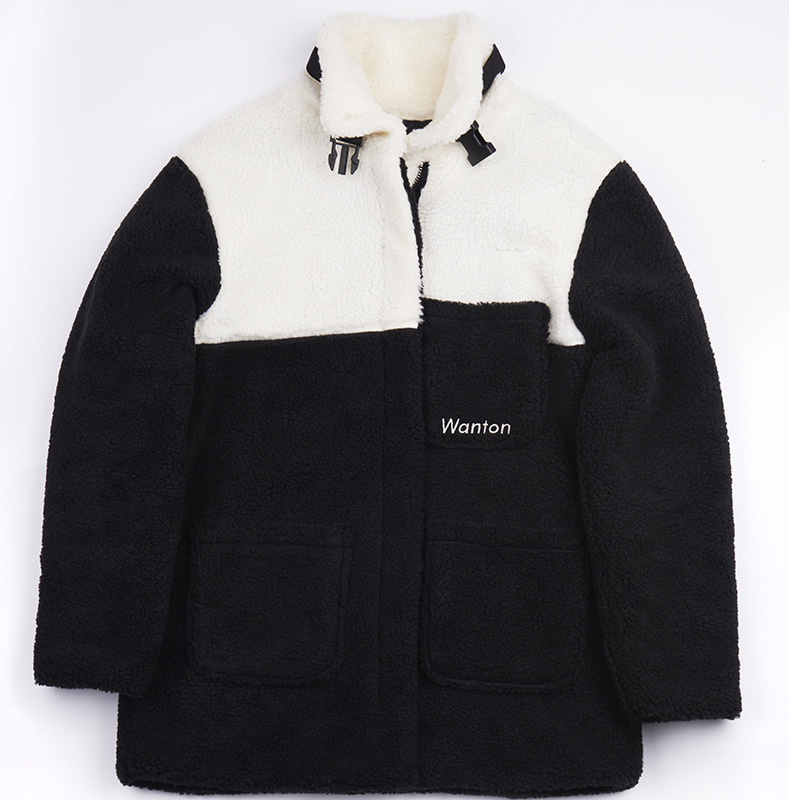 BUCKLE HEAVY FLEECE BLACK