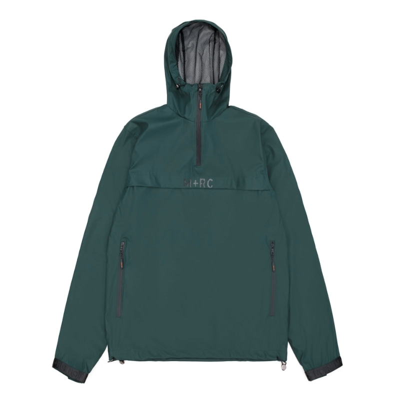 STORM PULLOVER JACKET GREEN