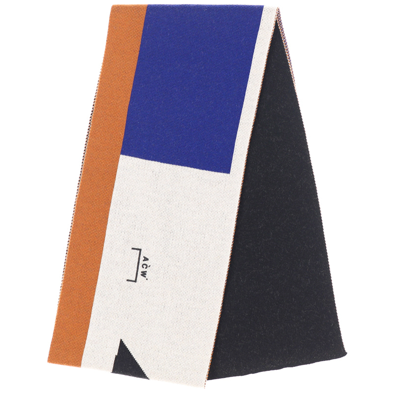 ACW SHAPE SCARF (CAMEL/NAVY/BLACK)