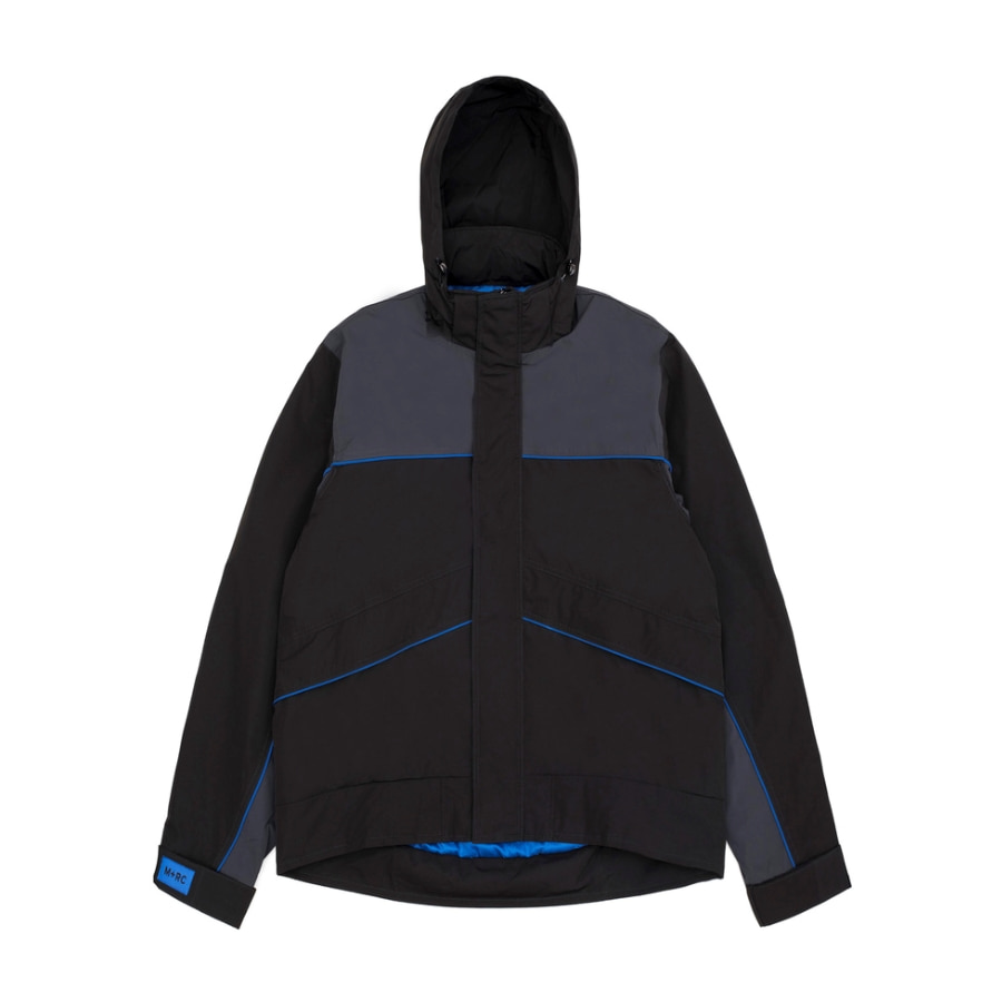 SKI JACKET BLACK / GREY